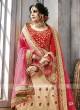 Semi Stitched Silk Lehenga Choli