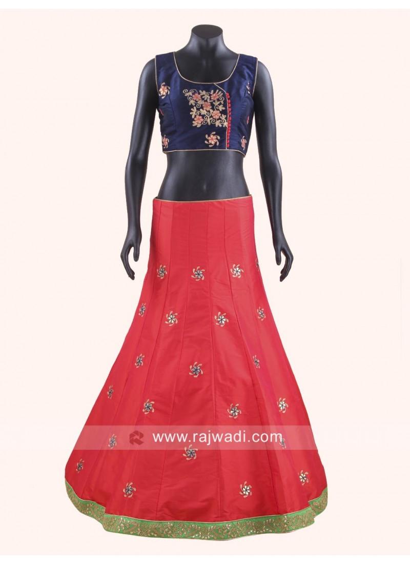 how to wear chaniya choli dupatta