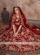 Heavy Work Unstitched Bridal Lehenga Set