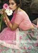 Beautiful Pink & Pista Green Lehenga Choli