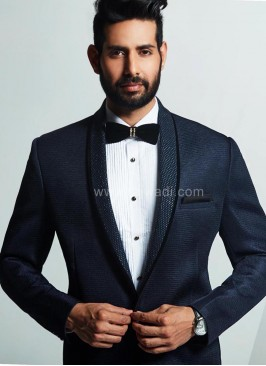 Navy Blue Wedding Suit