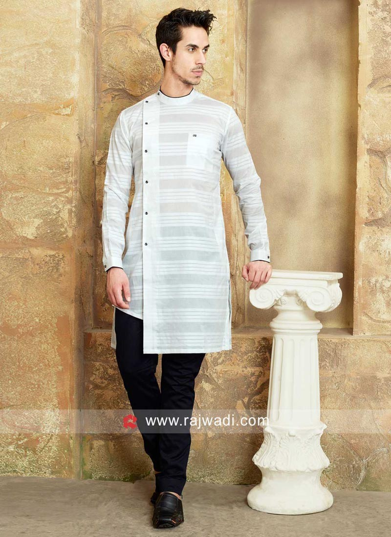 White Color Kurta Pajama