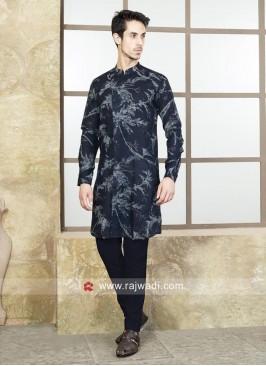 Cotton Silk Fabric Kurta Set