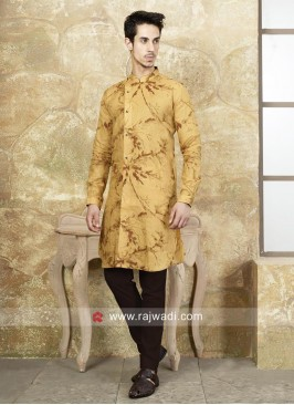 Attractive Yellow Color Kurta Set