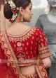 Art Silk Bridal Lehenga Choli
