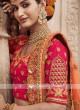 Art Silk Lehenga Choli In Red