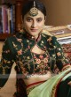 Embroidered Half n Half Saree