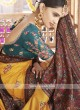 Art Silk Yellow Saree