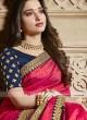 Tamannaah Bhatia Pink Saree with Blouse