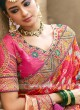 Banarasi Silk Pita Work Heavy Saree