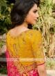 Wedding Wear Half N Half Saree
