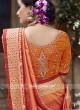 Designer Heavy Work Saree with Blouse