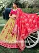 Silk Unstiched Lehenga Choli