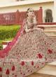 Floral Embroidered Wedding Lehenga Choli