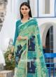 Printed Casual Saree with Piping Border