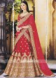 Red Bridal Heavy Lehenga Choli