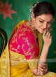 Attractive Yellow Color Saree