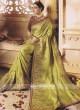 Stone Work Designer Saree