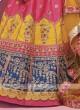 Silk Multi Color Lehenga Choli