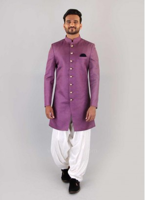 Lavender Nawabi Indo Western