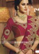 Border Work Art Silk Saree with Blouse