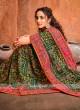Art Silk Green Designer Saree