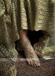 Heavy Embroidered Floor Length Dress