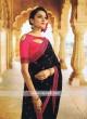 Black Designer Saree with Blouse