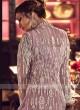 Designer pink color net salwar suit