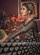Designer black color salwar suit