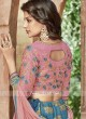 Embroidered Layered Lehenga Choli