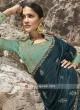 Stone Work Art Silk Saree with Blouse