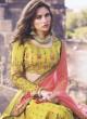 Mustard Yellow Designer Lehenga Choli