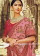 Pink Wedding Heavy Saree