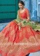 Soft Silk Wedding Lehenga Set