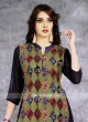 Multicolor Printed Chiffon Tunic