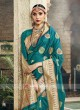 Art Silk Teal Color Saree
