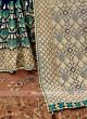 Blue Color Banarasi Silk Saree