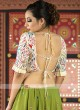 Resham and thread work chaniya choli