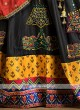 Black color garba chaniya choli