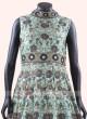 Readymade Anarkali Gown in Pista Green
