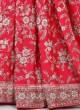 Amazing Gajari Pink Color Saree
