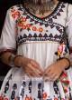 Attractive Thread Work Womens Kedia
