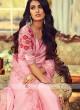Chiffon Silk Light Pink Border Saree
