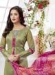 Cotton Silk straight Fit Salwar Suit