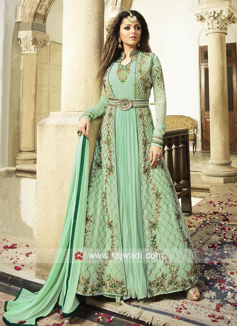 Abaya Style Drashti Dhami Salwar Suit