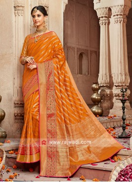 Adorable Banarasi Silk Zari Woven Saree