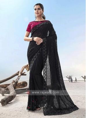 Adorable  Designer Saree