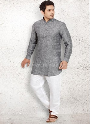 Adorable Linen fabric Pathani Suit