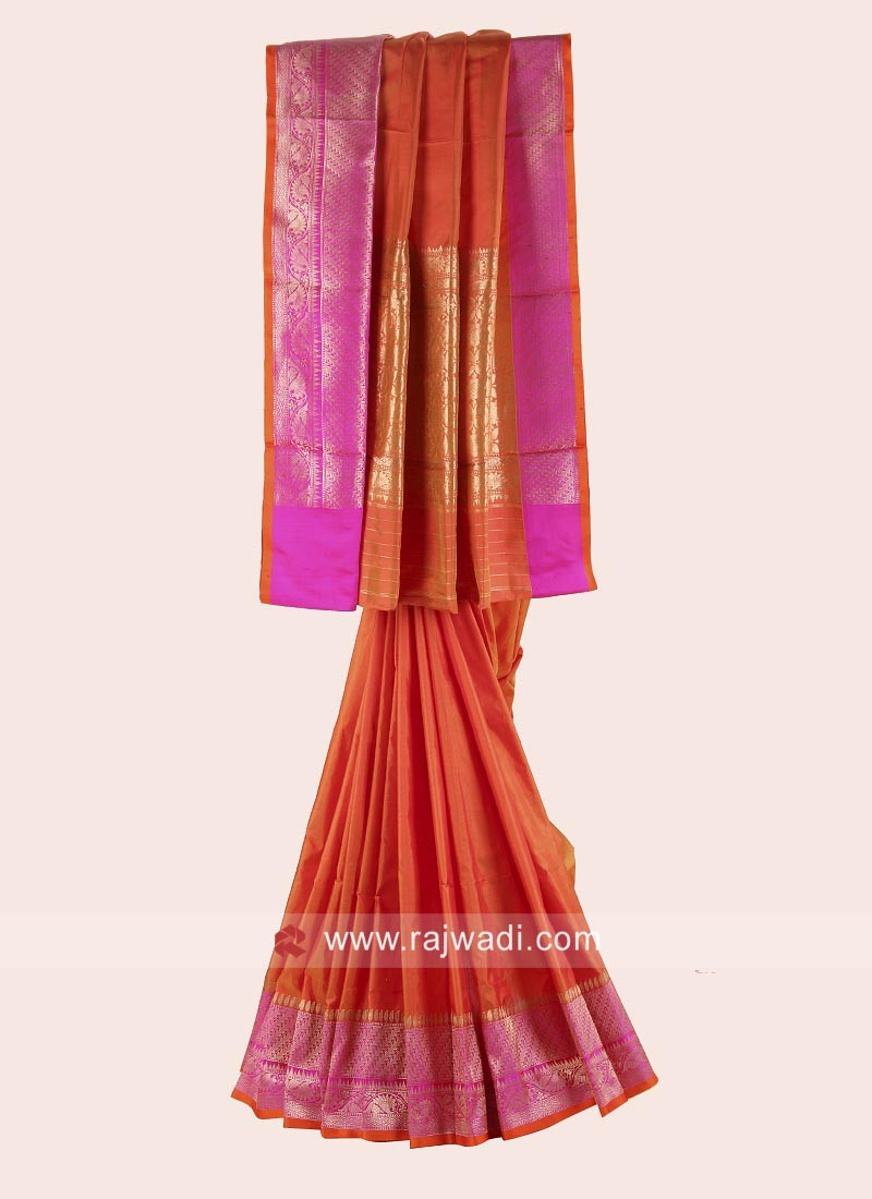Adorable Pure Silk Woven Saree